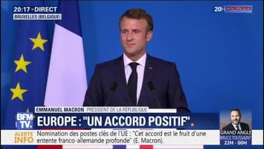 """Emmanuel Macron: """"Christine Lagarde a toutes les compétences et les qualités requises pour diriger la BCE"""""""