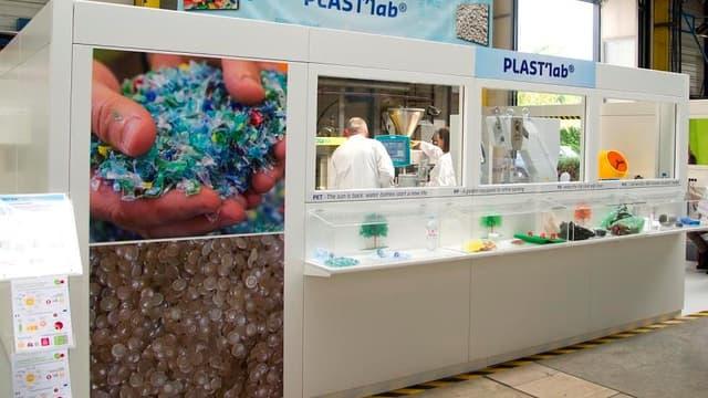 PLAST'Lab, nouveau laboratoire de Suez Environnement va permettre d'analyser, de tester, de caractériser les matières plastiques et de produire de nouvelles gammes de ressources plastiques à destination des industriels