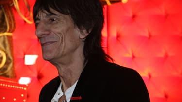 Ronnie Wood en 2011 en Australie.