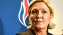 Marine Le Pen le 10 mars 2018 lors du congrès du FN à Lille.
