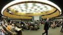 Lors d'une réunion extraordinaire du Conseil des droits de l'homme de l'Onu consacrée à la situation en Syrie, lundi. En dépit de l'opposition de la Russie et de la Chine, les 47 membres de ce Conseil ont adopté mardi à une large majorité une résolution p