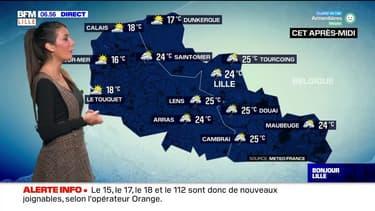 Météo Nord-Pas-de-Calais: un risque d'averses et d'orages