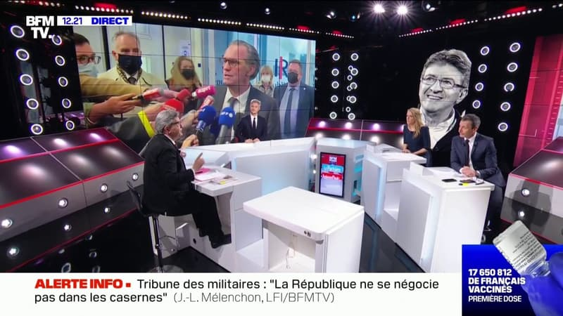 Candidature d'Éric Dupond-Moretti aux régionales: pour Jean-Luc Mélenchon,