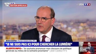 """Jean Castex: """"Je ne suis pas ici pour chercher la lumière, je suis ici pour chercher des résultats"""""""