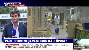 Pass sanitaire: comment ça va se passer à l'hôpital ?