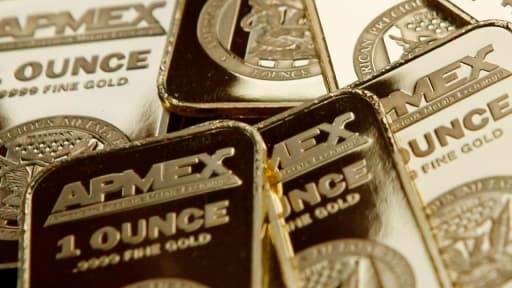 L'once d'or a vu sa valeur chuter pour passer sous les 1.500 dollars.