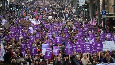 Manifestation contre les violences faites aux femmes le 23 novembre  2019 à Paris