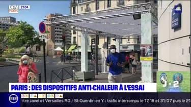 Canicule à Paris: des dispositifs anti-chaleurs à l'essai dans la capitale