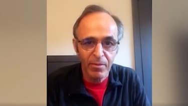 Jean-Jacques Goldman dans une vidéo pour les soignants.