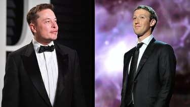Les deux milliardaires affichent leur désaccord sur les réseaux sociaux quant à l'éventuelle dangerosité de l'intelligence artificielle pour l'humanité.