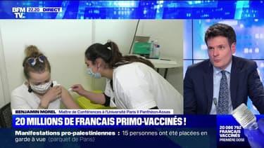 20 millions de Français primo-vaccinés ! - 15/05