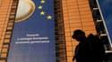 Le siège de la Commission européenne à Bruxelles. Les ministres des Finances de la zone euro ont convenu lundi d'augmenter les ressources du Fonds monétaire international (FMI) de 150 milliards d'euros pour juguler la crise de la dette et se sont assuré l