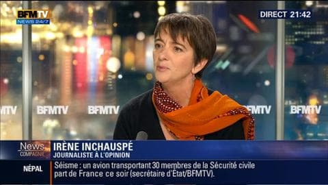 """Irène Inchauspé: """"On ne peut rien faire sans les politiques"""""""