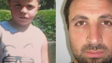 Les photos de Vicente et de son père diffusées pour l'avis de recherche.