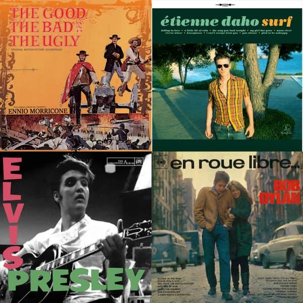 Les vinyls disponibles lors du Disquaire Day