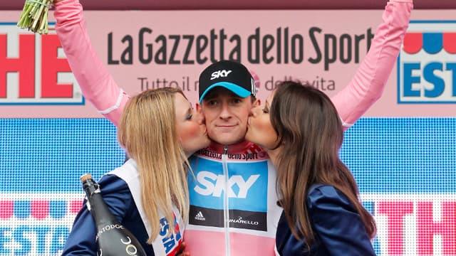 Bradley Wiggins sur le Giro