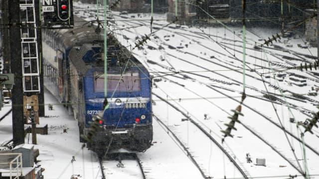 Contrairement aux idées reçues, les trains sont plus ponctuels en hiver