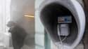 A Kiev, où la température a atteint -20°C mercredi matin. Treize personnes ont succombé au cours des 24 dernières heures à la vague de froid qui frappe l'Ukraine, portant à 43 le nombre de victimes des températures glaciales dans l'ancienne république sov