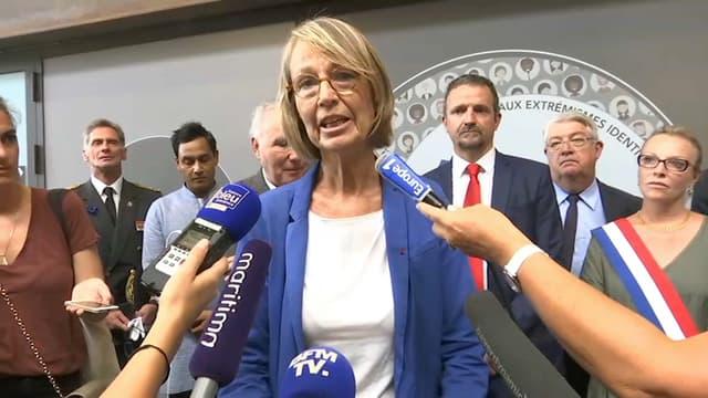 Françoise Nyssen, le 23 août 2018 sur BFMTV