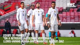 """Equipe de France : """"On a retrouvé la colonne vertébrale"""" se réjouit Diaz"""