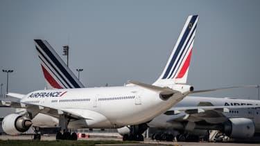 Air France entretient quotidiennement ses avions