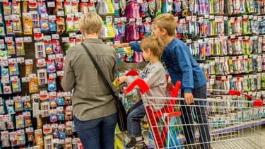 77% des achats de fourniture se font dans les grandes surfaces, selon Gfk.