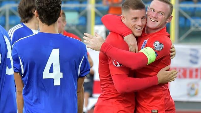 Wayne Rooney et Ross Barkley