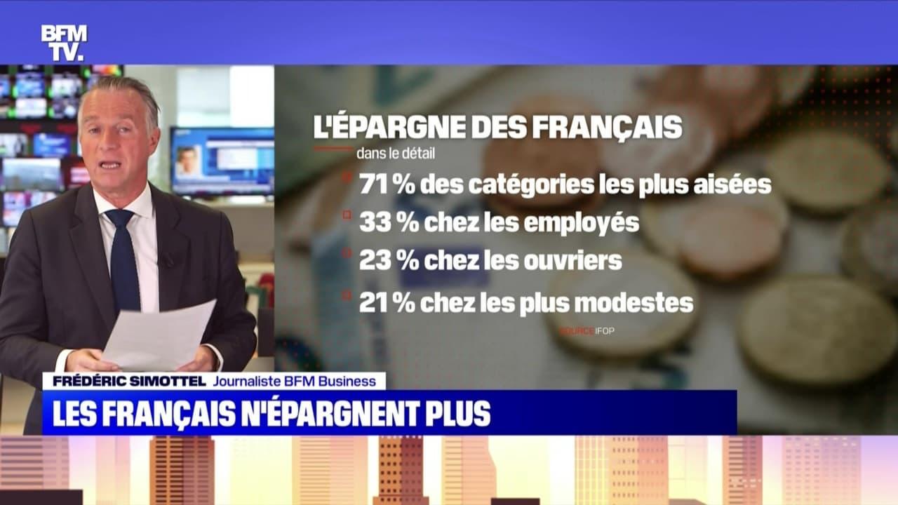 Les Français n'épargnent plus - 24/10