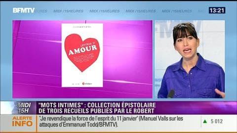 """Les éditions Le Robert lancent la collection épistolaire """"Mots intimes"""""""