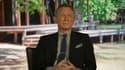 Daniel Craig en train de répondre aux questions de BFMTV.