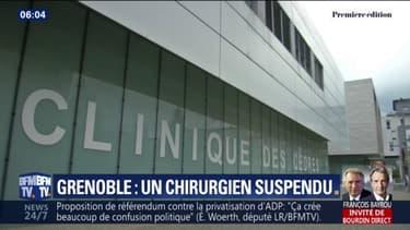 Deux plaintes ont été déposées à Grenoble par d'anciens patients, dont les opérations du dos auraient dégénéré. Le chirurgien accusé a été suspendu 18 mois par le Conseil de l'ordre des médecins. Il conteste les accusations .Sa suspension doit com