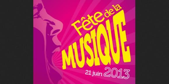 Affiche de l'édition 2013 de la fête de la musique