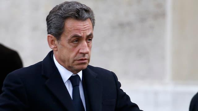 Le président de l'UMP Nicolas Sarkozy