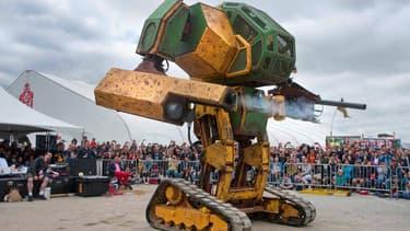 Mark II, le robot géant de MegaBots.