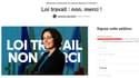 En moins d'une semaine, la pétition a recueilli plus de 550.000 signatures.