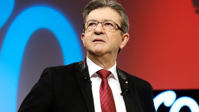 Jean-Luc Mélenchon, candidat à l'élection présidentielle.