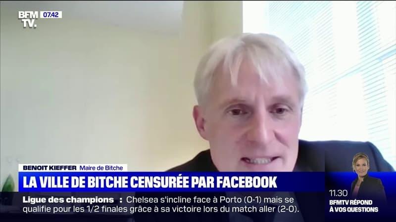 La ville de Bitche en Moselle censurée par Facebook, son maire réagit sur BFMTV