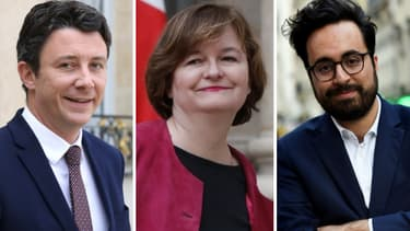 Benjamin Griveaux, Nathalie Loiseau et Mounir Mahjoubi.