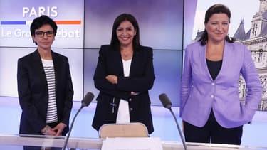 La liste de la maire sortante PS Anne Hidalgo, alliée aux écologistes, arrive largement en tête des intentions de vote (45%) au second tour.