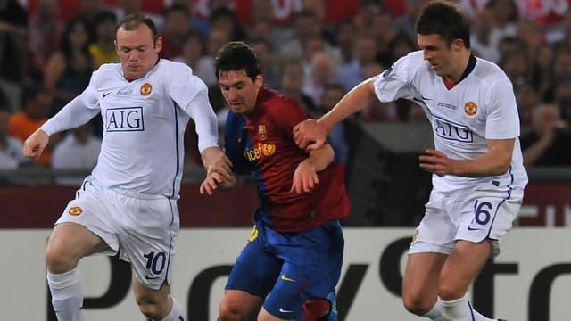 Wayne Rooney et Lionel Messi