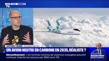 Un avion neutre en carbone d'ici 2035, est-ce réaliste ? - 09/06