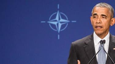 Barack Obama a donné une conférence de presse depuis Varsovie, samedi.