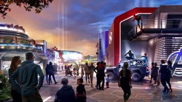 Disneyland dévoile son nouvel espace consacré à Marvel