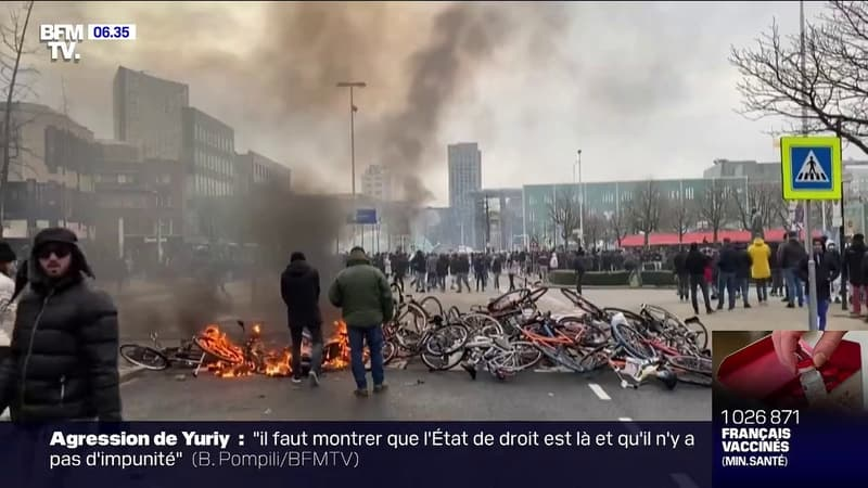 Des violences ont été observées dans plusieurs villes des Pays-Bas, en marge de manifestations contre le couvre-feu