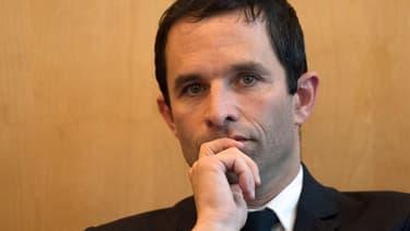 Benoît Hamon met en garde les manifestants du 5 mai.