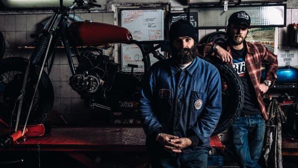 Fred Jourden, 43 ans, ancien cadre d'internet (Caramail, Lycos...) devenu garagiste.