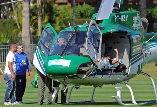 Neymar hélicoptère