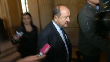 Bernard Squarcini au palais de justice de Paris.