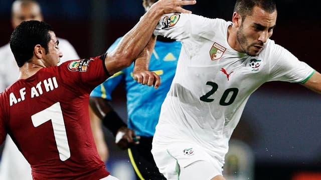 Le joueur algérien a dû déclarer forfait pour la Coupe du monde.