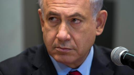 Le Premier ministre israélien Benjamin Netanyahu a accusé dimanche le mouvement islamiste Hamas d'avoir enlevé les trois jeunes Israéliens.